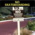 No_skateboarding